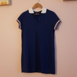 Fred Perry navy blue dress